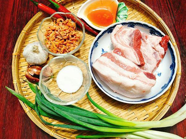 Cách làm thịt kho quẹt