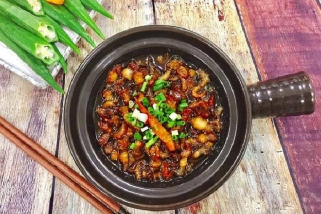 Cách nấu thịt kho quẹt tôm ngon