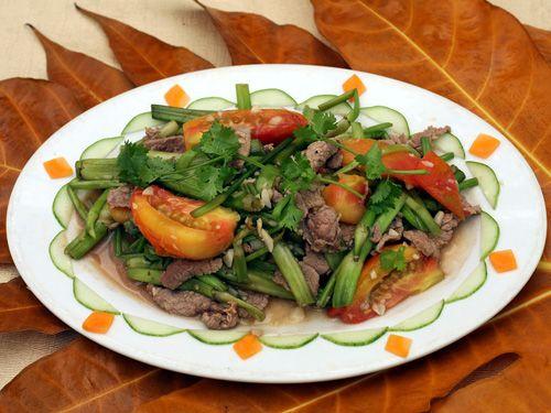 cách làm thịt bò xào cần tây