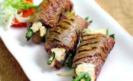 Cách làm bò cuộn phô mai chiên siêu ngon ăn là nghiền