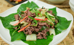 Cách làm thịt bò xào lá lốt | Một món ăn lạ miệng mà hấp dẫn bạn nên thử