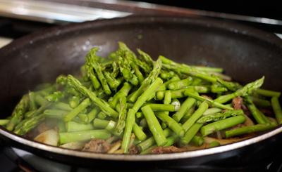 măng chua xào thịt bò