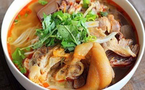 Món Bún bò Huế
