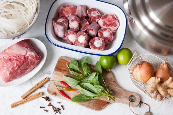 cách nấu bún thịt heo ngon
