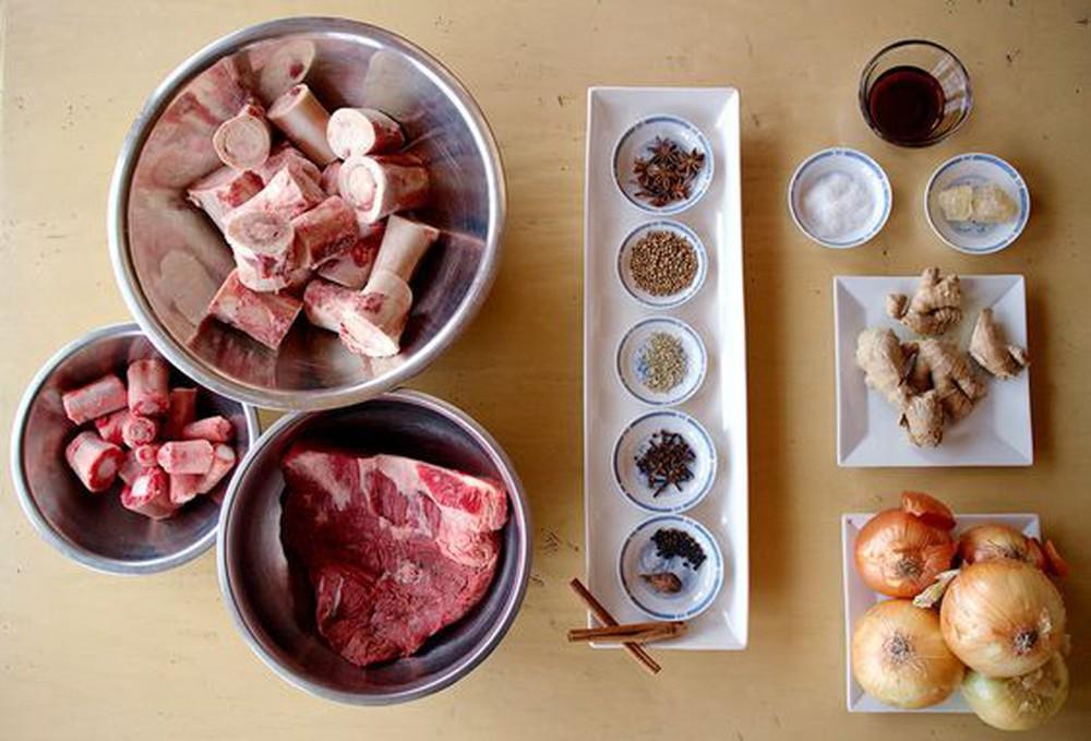 cách nấu bún xương bò
