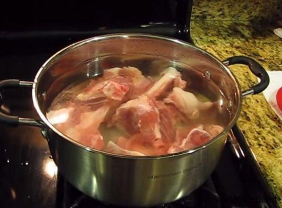 cách nấu bún xương bò huế