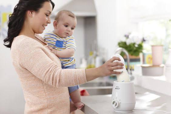 cách dùng máy hâm sữa philips avent scf355