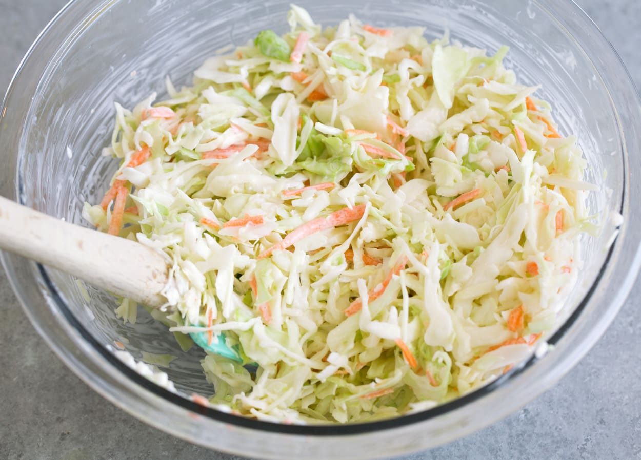 cách làm salad bắp cải giống lotteria
