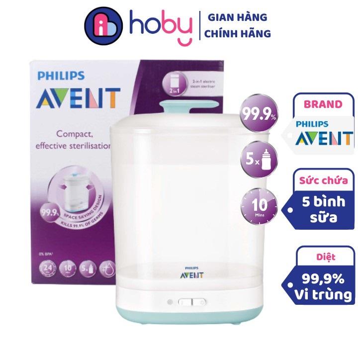 Hoby chuyên bán máy tiệt trùng bình sữa Avent