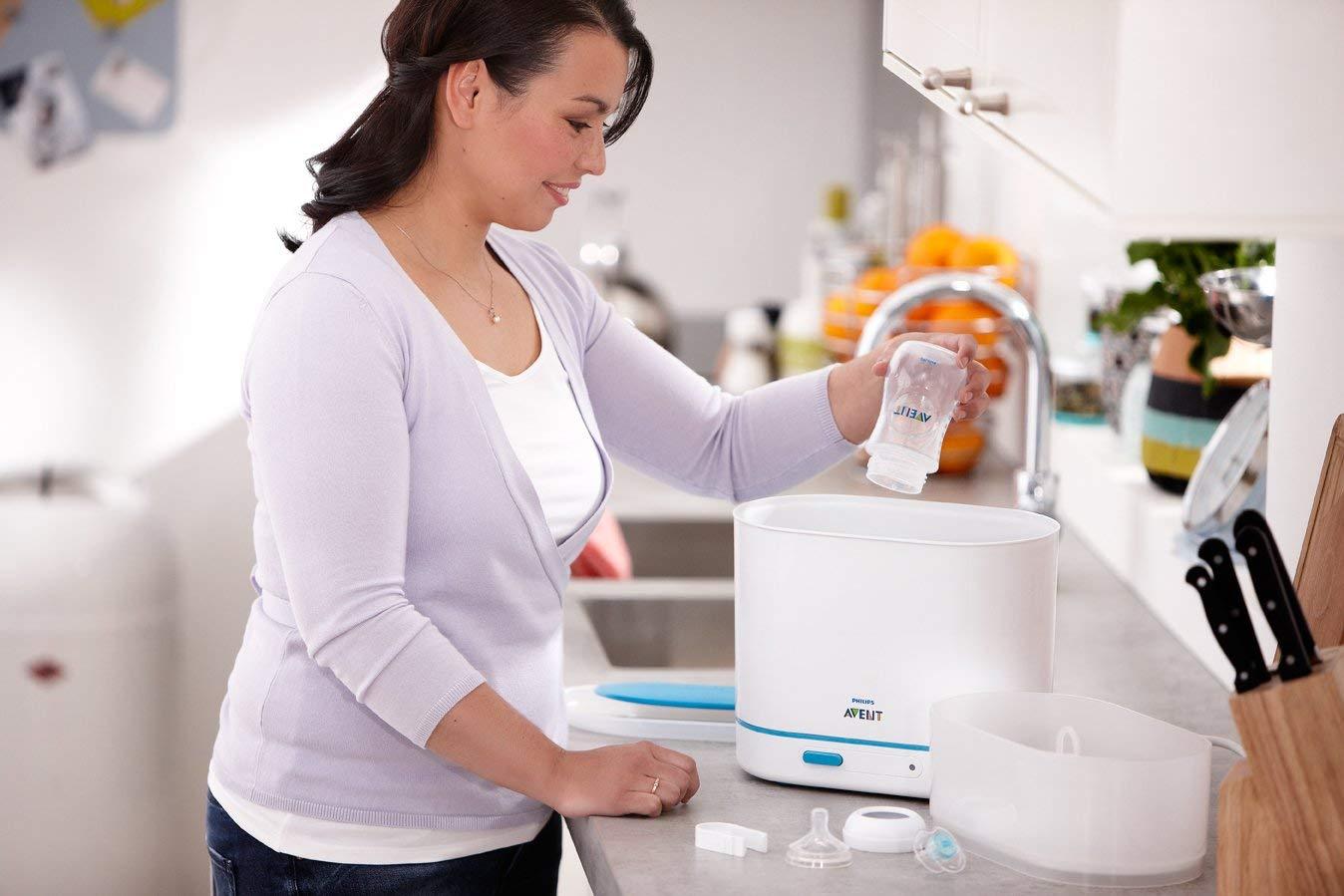 hướng dẫn dùng máy tiệt trùng hơi nước Avent