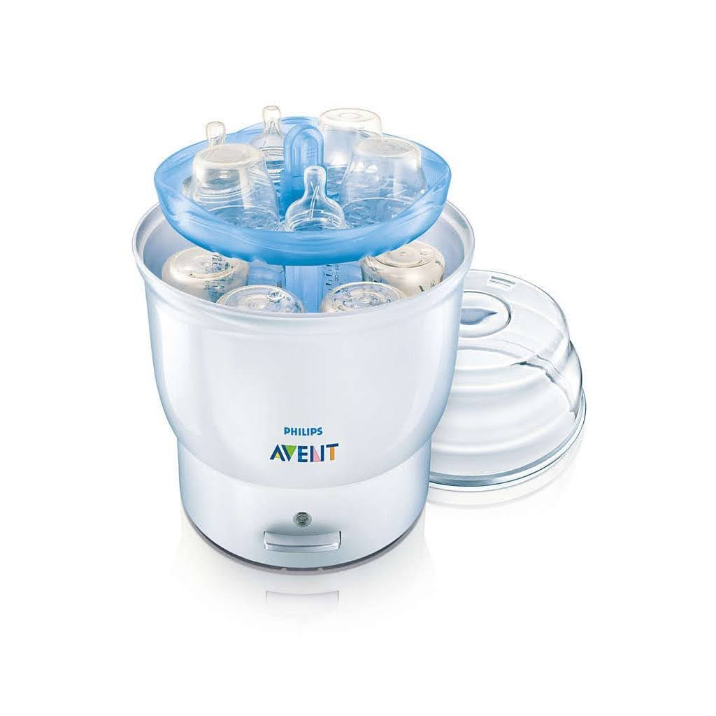 máy tiệt trùng bình sữa điện Avent