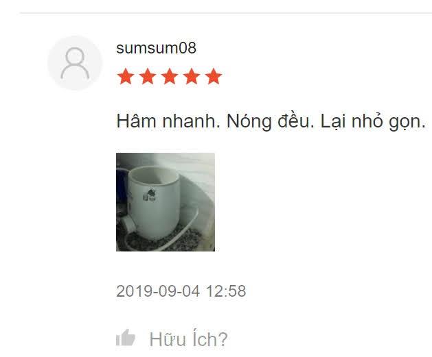 review sử dụng máy hâm sữa avent