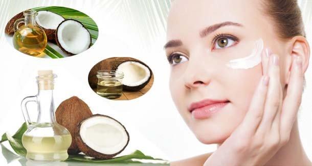 tác dụng của dầu dừa chăm sóc da