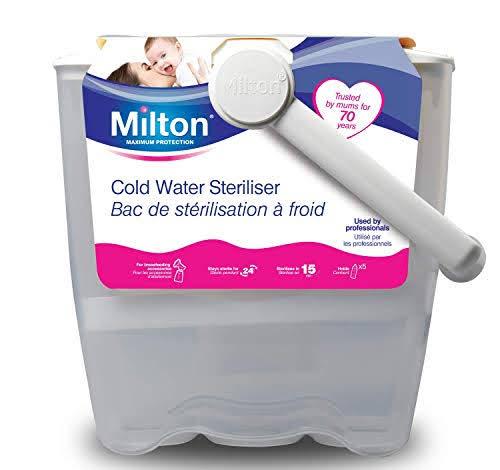 tiệt trùng bình sữa bằng nước lạnh