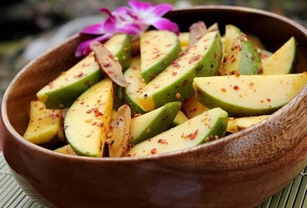 ăn xoài xanh có giảm cân không
