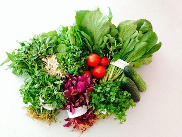 các loại rau thường nấu với ngao