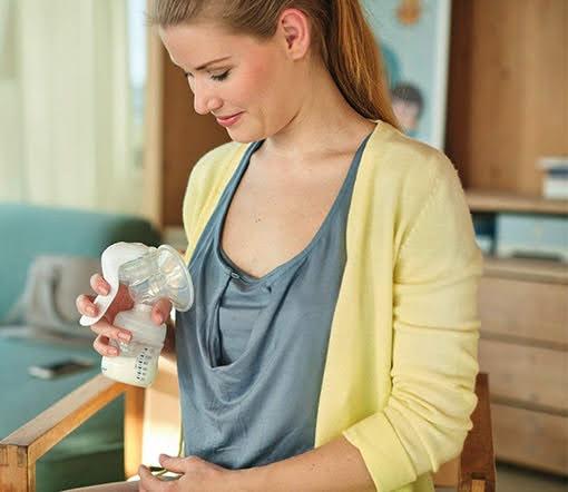 hướng dẫn dùng dụng cụ hút sữa bằng tay avent