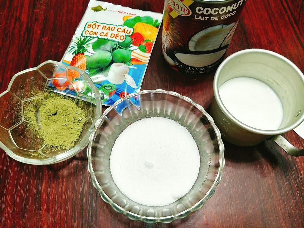 cách làm rau câu sữa