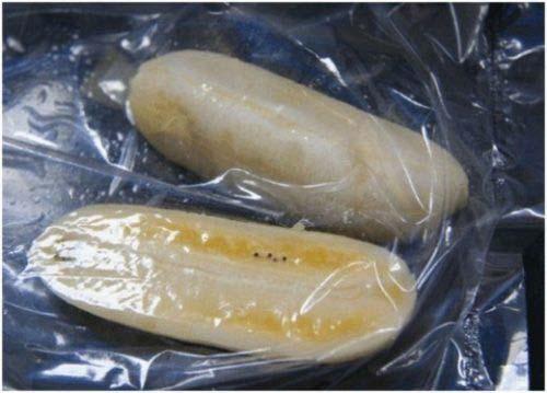 Ép chuối trong túi nilong