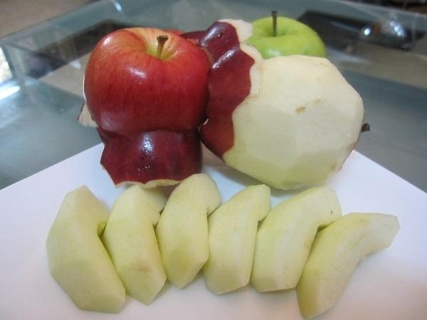 Cắt gọt táo