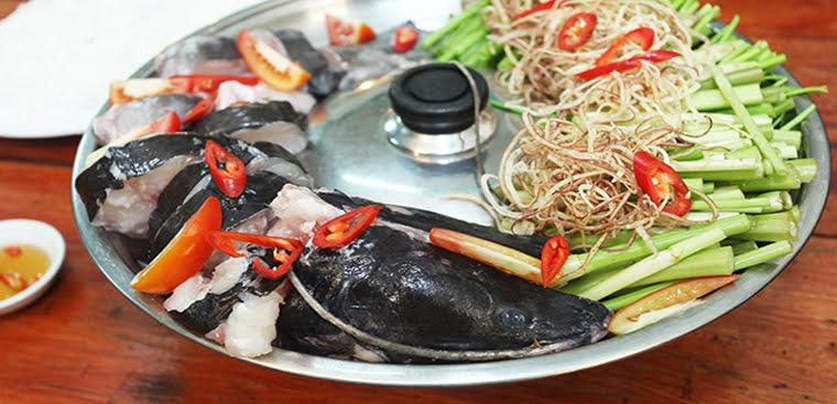 lẩu cá ăn rau gì ngon