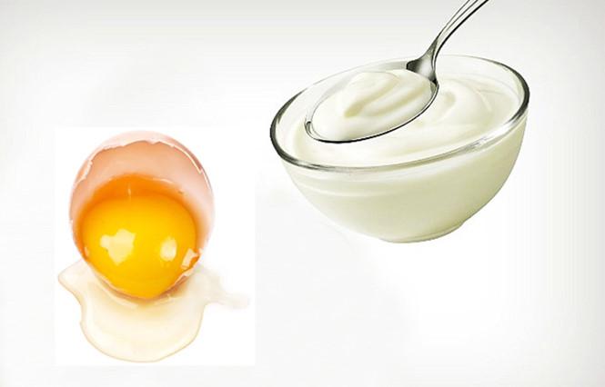 Mặt nạ trứng gà sữa chua