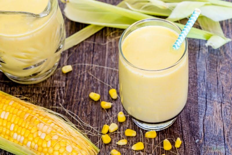 cách làm sữa ngô ngon