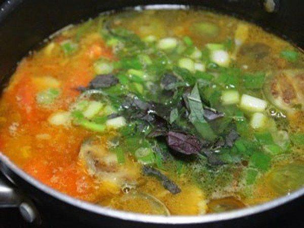 cà tím nấu đậu