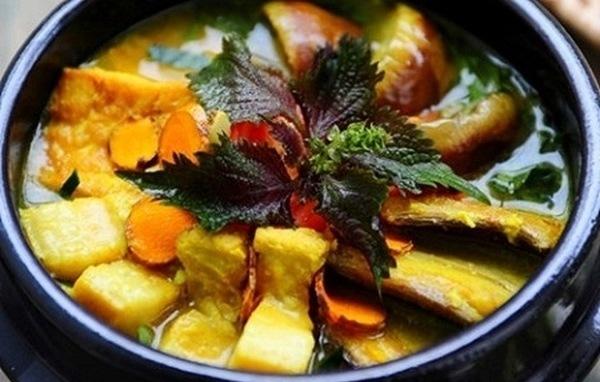 cà tím nấu với đậu phụ thịt ba chỉ